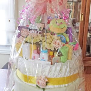 Decadent Designs Decor Sudbury Ontario Baby Cakes Newborn Gift Basket Home Decor