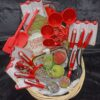 Decadent Designs Decor Sudbury Ontario Bake Me A Cake Wicker Gift Basket