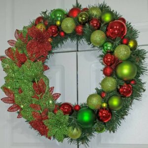 Decadent Designs Decor Sudbury Ontario Christmas Blessings Wreath Home Decor
