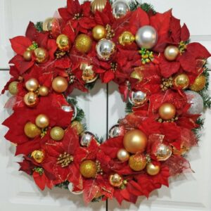 Decadent Designs Decor Sudbury Ontario Christmas Trimmings Wreath Home Decor