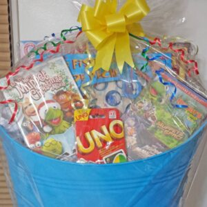 Decadent Designs Decor Sudbury Ontario Family Fun Night Gift Basket