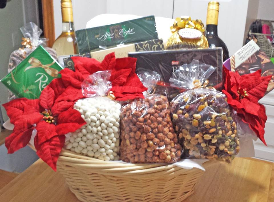 Decadent Designs Decor Sudbury Ontario Festive Occasion Gift Basket Home Decor