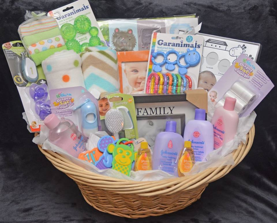 Decadent Designs Decor Sudbury Ontario New Arrival In Town Baby Gift Basket