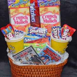 Decadent Designs Decor Sudbury Ontario Night At The Movies Gift Basket