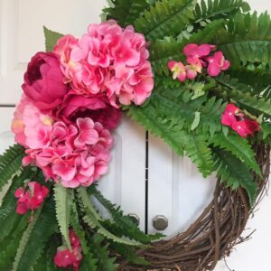 Decadent Designs Decor Sudbury Ontario Spring is Here Wicker Wreath Home Decor