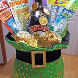 Decadent Designs Decor Sudbury Ontario St. Patty's Party Gift Basket Home Decor