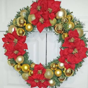 Decadent Designs Decor Sudbury Ontario Traditional Christmas Wreath Home Decor