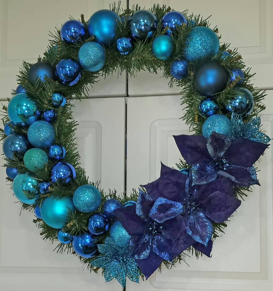 Decadent Designs Decor Sudbury Ontario Twilight Twinkle Wreath Home Decor